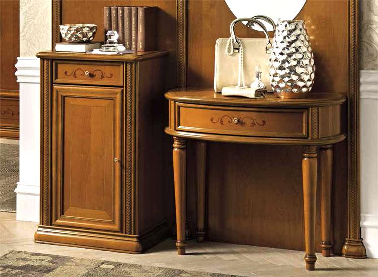 luxus entrance flur diele vorraum m bel kirsch siena klassische stilm bel italia ebay. Black Bedroom Furniture Sets. Home Design Ideas