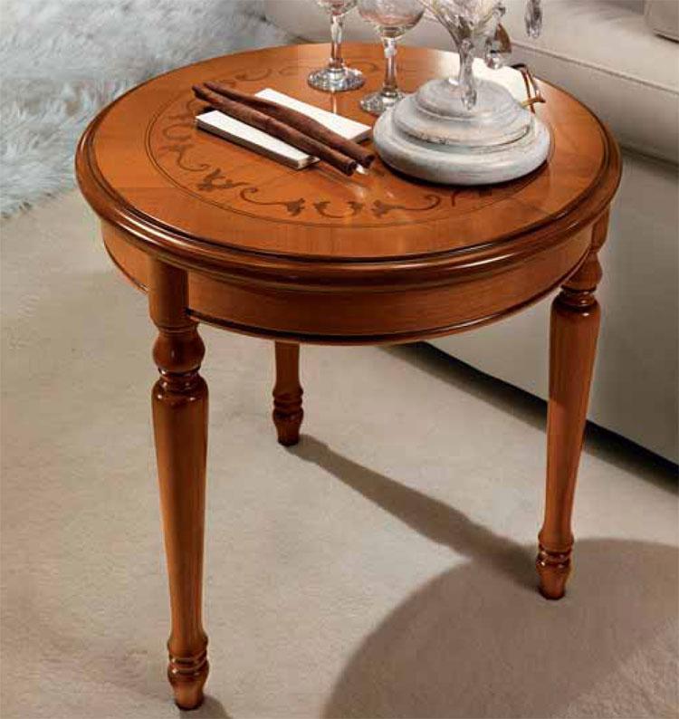 exlusiver couchtisch rund kirschbaum massiv furnier. Black Bedroom Furniture Sets. Home Design Ideas