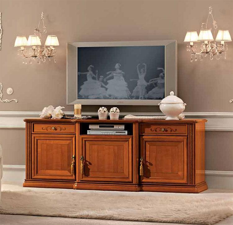 exlusiver tv unterschrank kirschbaum massiv furnier. Black Bedroom Furniture Sets. Home Design Ideas