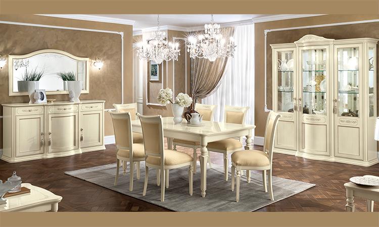 luxus wohnzimmer tische:Luxus Wohnzimmer Torriani Farbe Avorio Furnier Stilmöbel aus Italien