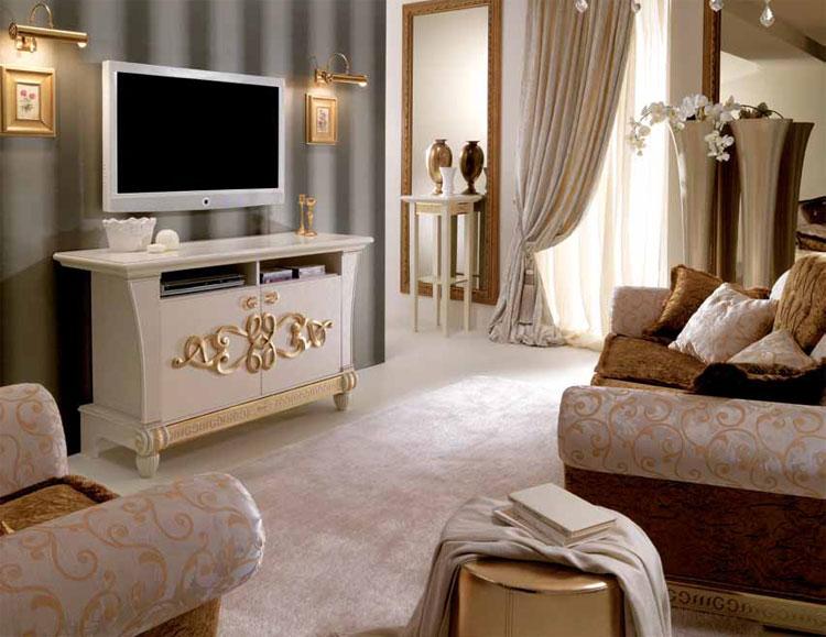 Wohnzimmer goldene wand inspiration ber haus design for Goldene wandfarbe
