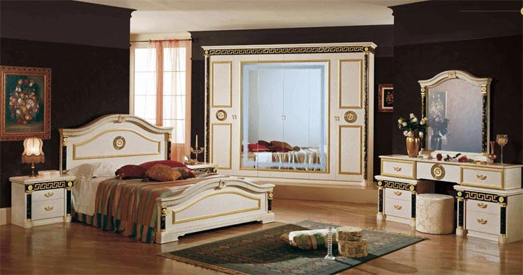 Luxus schlafzimmer komplett  Komplett Luxus Schlafzimmer Set Royale Italienische Stilmöbel ...