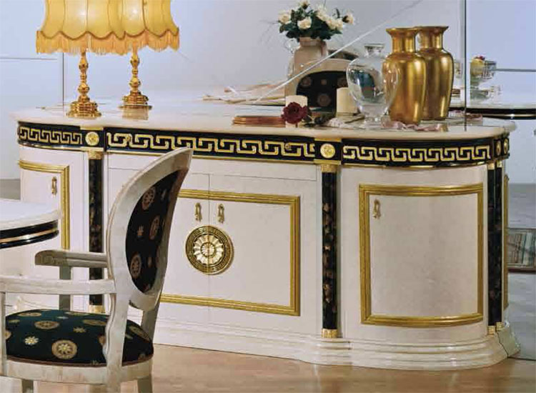 sideboard spiegel luxus klassik hochglanz griechischer band italienische m bel ebay. Black Bedroom Furniture Sets. Home Design Ideas