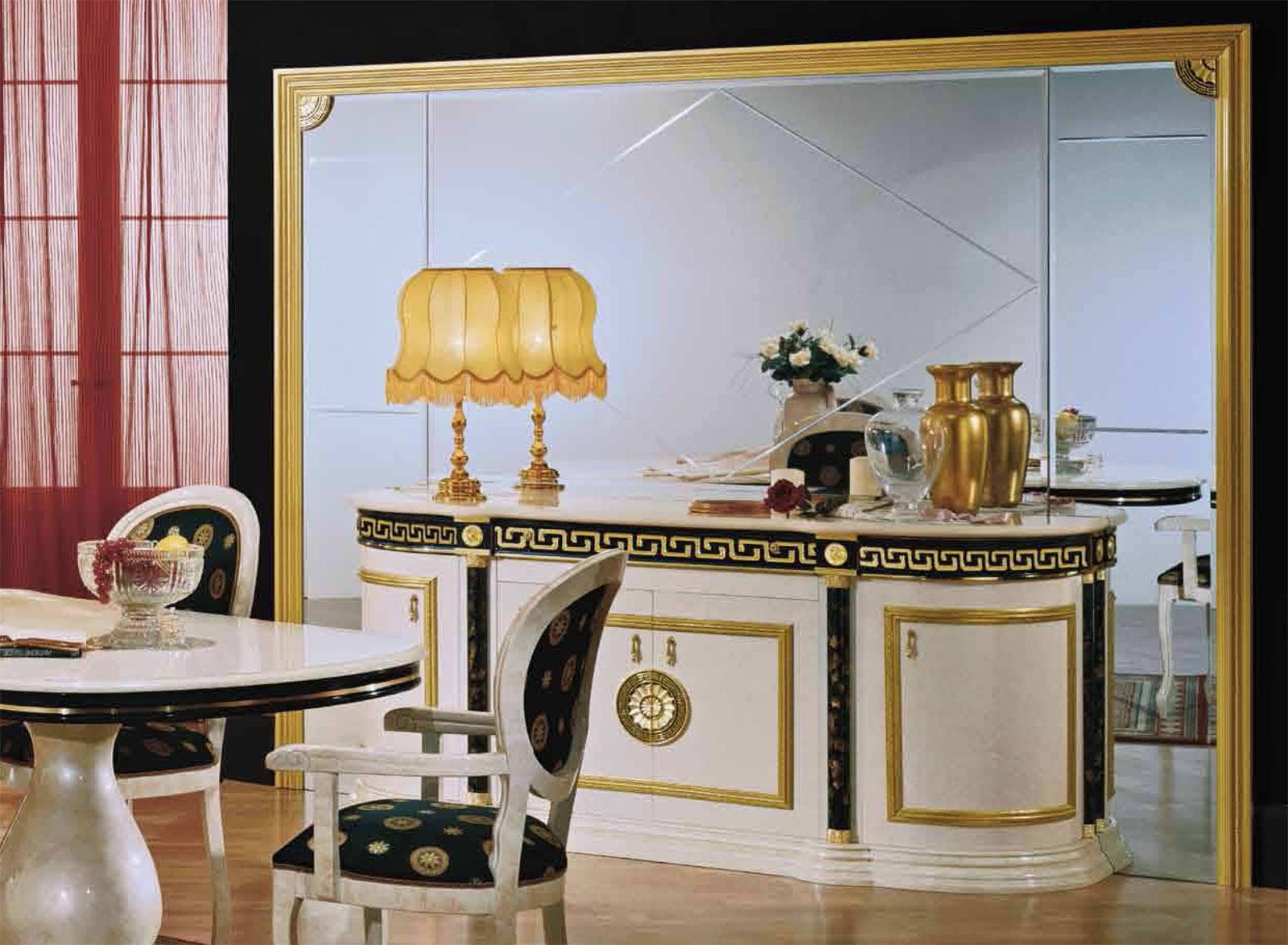 design luxus wohnzimmer esszimmer beige italienische. Black Bedroom Furniture Sets. Home Design Ideas