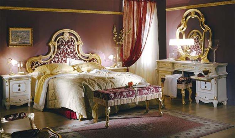komplett luxus schlafzimmer mbel italien royal top barock wei beige gold dekor ebay - Luxus Schlafzimmer Komplett