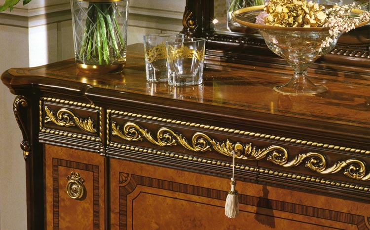 komplett luxus schlafzimmer m bel italien royal top barock kirschbaum nu baum ebay. Black Bedroom Furniture Sets. Home Design Ideas
