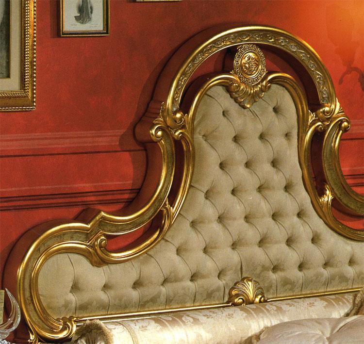 schlafzimmer doppelbett m bel italien schick gold royal schick luxus barock ebay. Black Bedroom Furniture Sets. Home Design Ideas