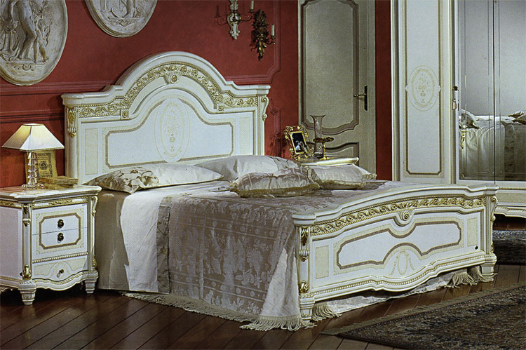 komplett luxus schlafzimmer m bel italien royal top barock wei beige gold dekor ebay. Black Bedroom Furniture Sets. Home Design Ideas
