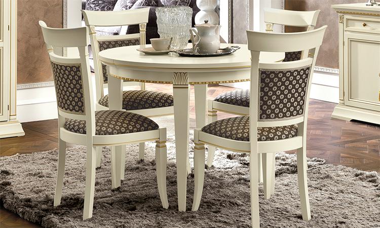 exklusive tisch st hle treviso elfenbein designm bel aus. Black Bedroom Furniture Sets. Home Design Ideas