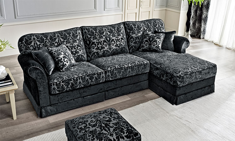 Luxus sofa sessel 3 2 1 sitzer polster stoff klassische for Klassische mobel ebay