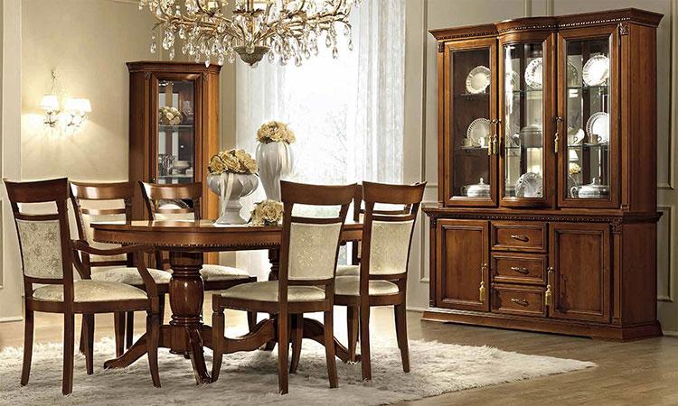 luxus wohnzimmer schränke:Luxus wohnzimmer schränke : Luxus Wohnzimmer Set Treviso Kirschbaum