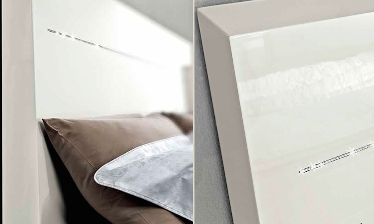 moderne kommode klein onda spiegel wei luxus design. Black Bedroom Furniture Sets. Home Design Ideas