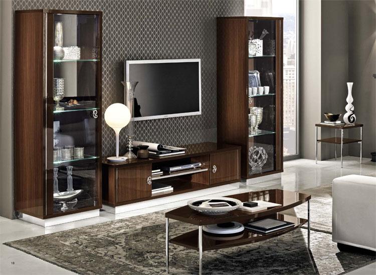 nussbaum wohnzimmer. Black Bedroom Furniture Sets. Home Design Ideas