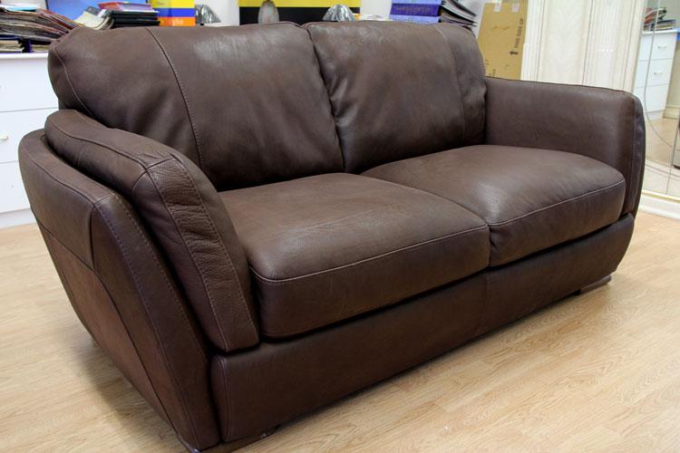 Luxus Sofa Couch 3 Sitzer Sessel Echt-Ledergarnitur Natuzzi ...