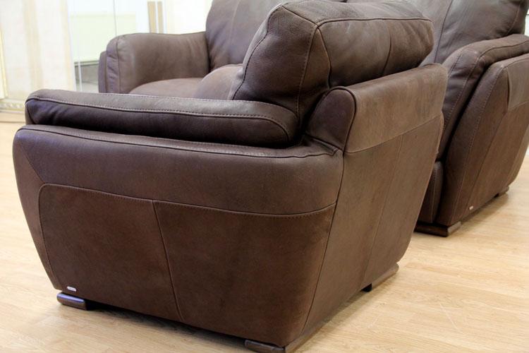 luxe sofa canap 3 places fauteuil vraiment cuir garniture natuzzi edition mod le a399. Black Bedroom Furniture Sets. Home Design Ideas