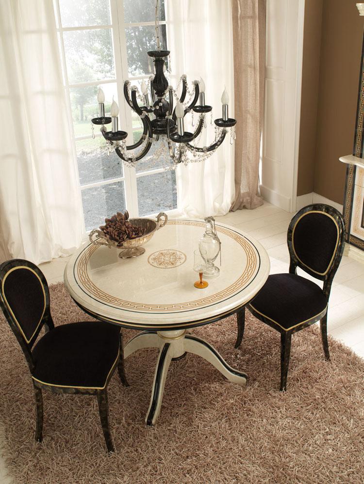 Esstisch oval medusa von phidias dekor luxus stilm bel italien design beige - Stilmobel italien ...