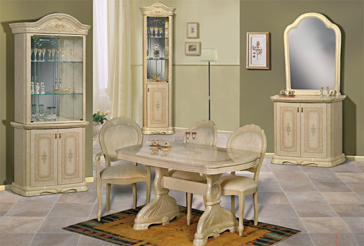 luxus esstisch fest klassische stilm bel aus italien nussbaum hochglanz hamburg. Black Bedroom Furniture Sets. Home Design Ideas