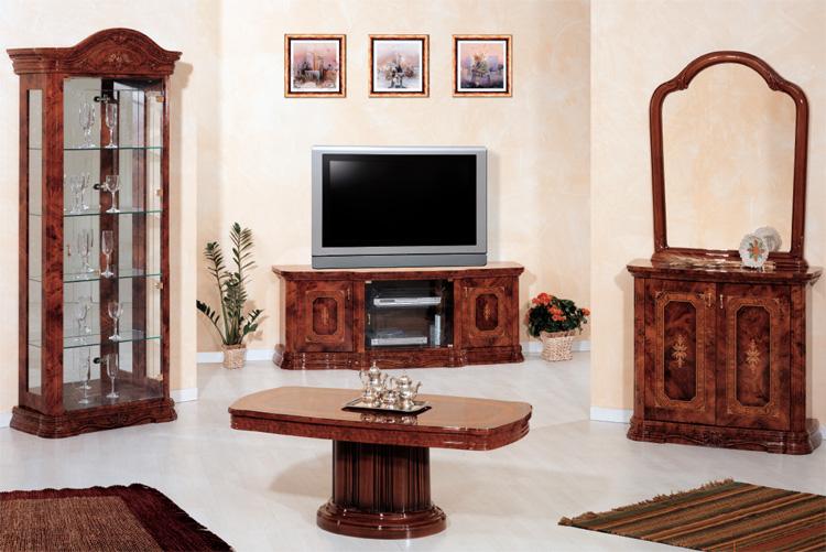 Luxus esstisch fest klassische stilm bel aus italien nussbaum hochglanz hamburg - Stilmobel italien ...