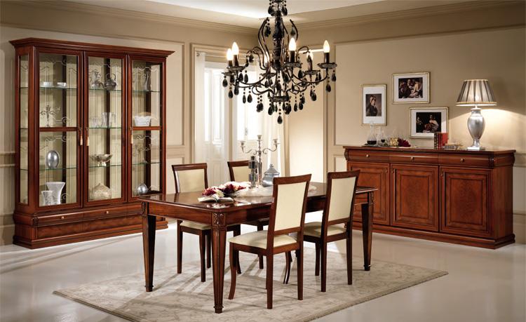 Exklusive vitrine 3tr klassische stilm bel italien nussbaum hochglanz ebay - Stilmobel italien ...