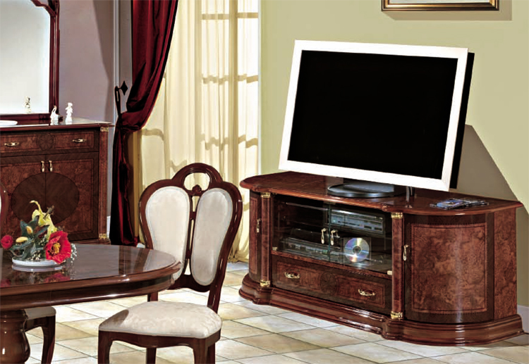 tv schrank lcd tv florence nussbaum stilm bel italien. Black Bedroom Furniture Sets. Home Design Ideas