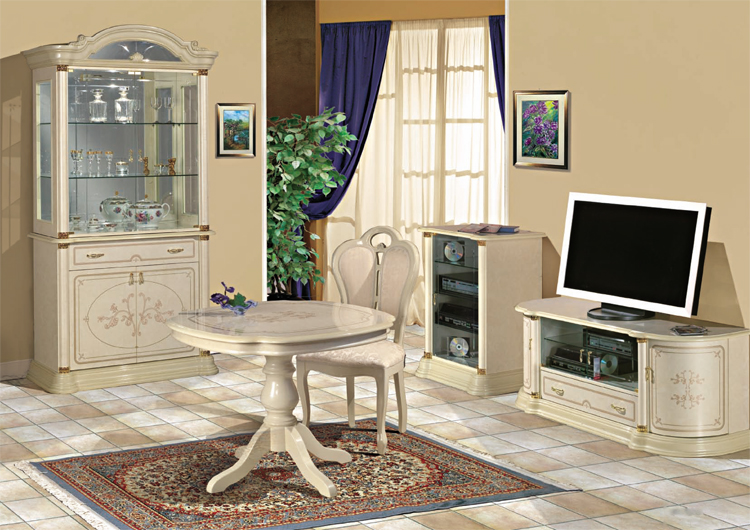 exklusiver tv schrank f r lcd klassische italienische stilm bel ivory hochglanz hamburg. Black Bedroom Furniture Sets. Home Design Ideas