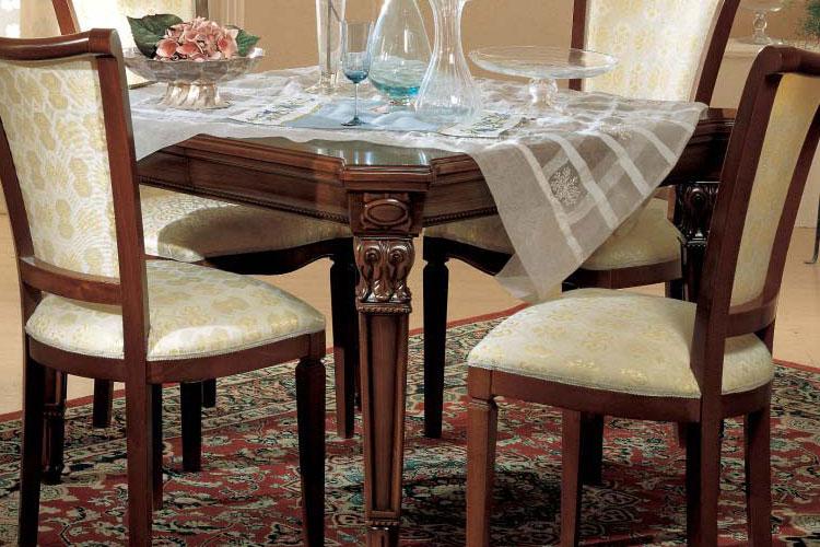 Tisch ausziehbar esszimmer serena italien klassik for Esszimmer tische quadratisch