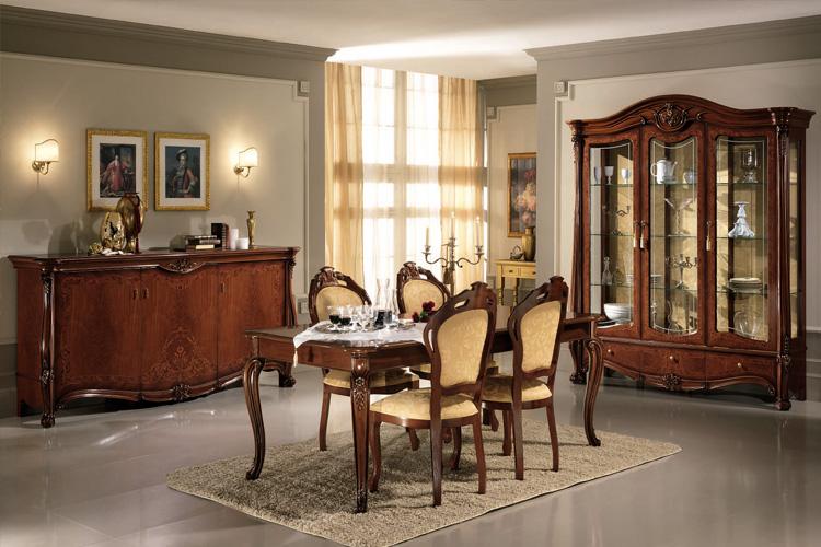 design wohnzimmer esszimmer garnitur luxus stilmöbel italien ... - Wohnzimmer Klassik