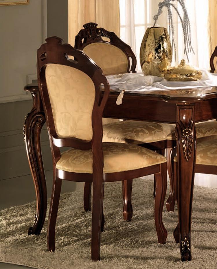 Wohnzimmer esszimmer garnitur luxus stilm bel italien nussbaum hochglanz furnier ebay - Stilmobel italien ...