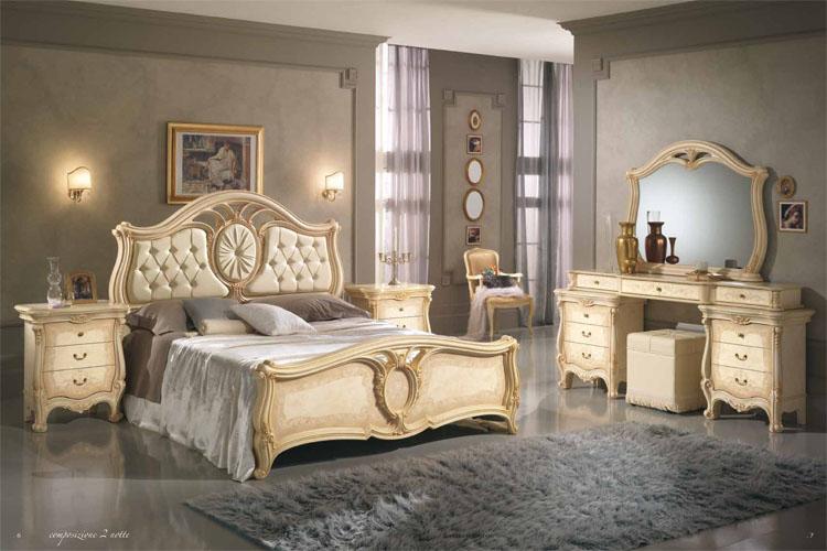 Luxus schick schlafzimmer stilm bel italia klassik for Italienisches schlafzimmer hochglanz