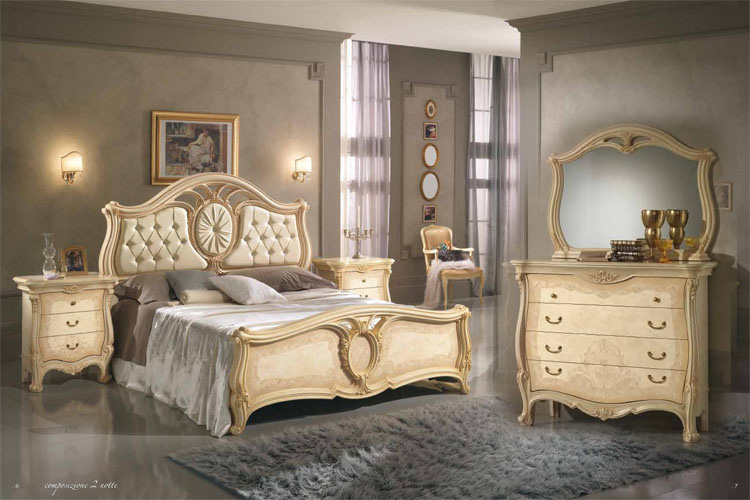 design schlafzimmer sovrana italien beige qualit t bett kommode nakos spiegel ebay. Black Bedroom Furniture Sets. Home Design Ideas