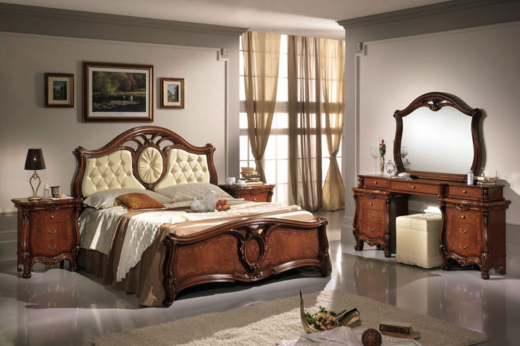 komplett luxus schlafzimmer klassische italienische m bel. Black Bedroom Furniture Sets. Home Design Ideas