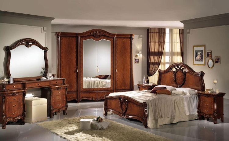 komplett schlafzimmer nu baum klassische stilm bel italien. Black Bedroom Furniture Sets. Home Design Ideas