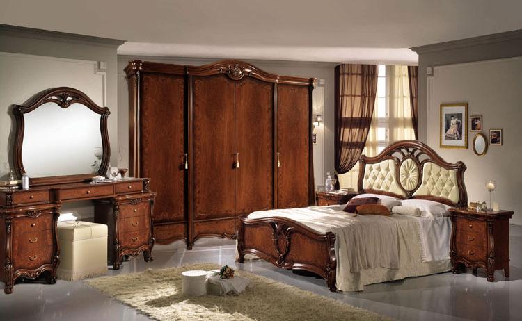 komplett schlafzimmer schrank bett kommode nakos spiegel stilm bel aus italien. Black Bedroom Furniture Sets. Home Design Ideas