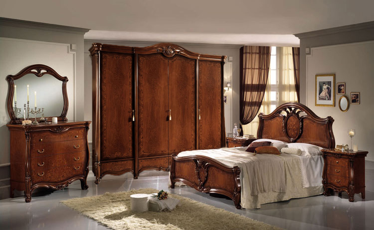 komplett schlafzimmer klassische italienische stilm bel hochglanz topseller ebay. Black Bedroom Furniture Sets. Home Design Ideas