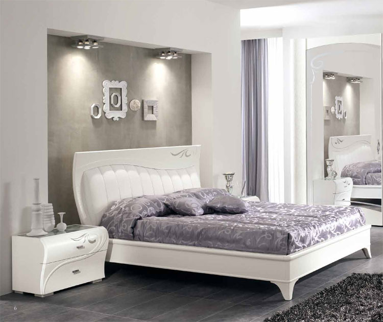 luxus schlafzimmer set furnier esche wei klassische. Black Bedroom Furniture Sets. Home Design Ideas
