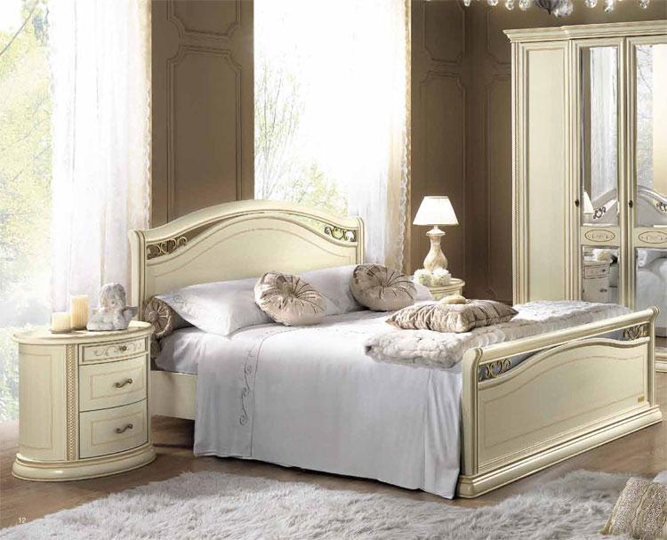 luxus schlafzimmer set siena massiv holz romantik. Black Bedroom Furniture Sets. Home Design Ideas