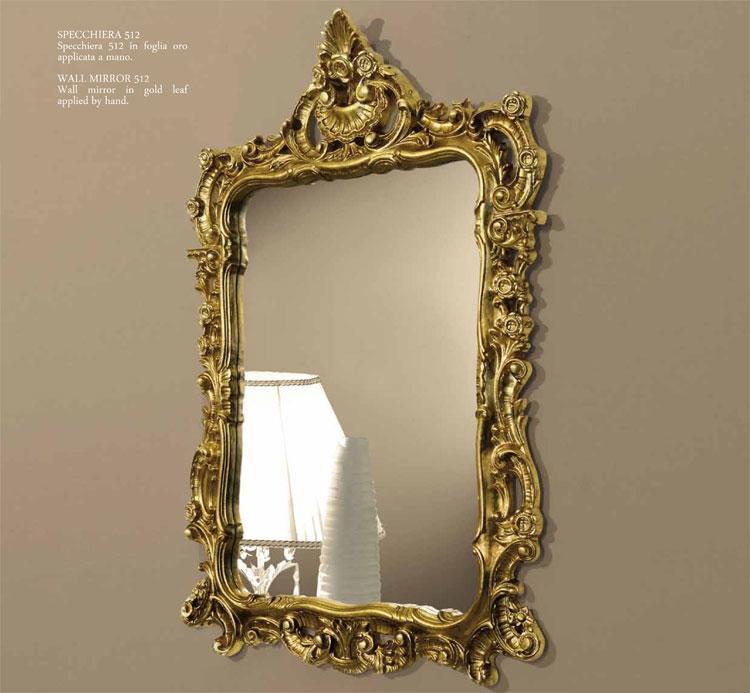 Wandspiegel rechteckig casanova siena romantik klassische for Artikel spiegel