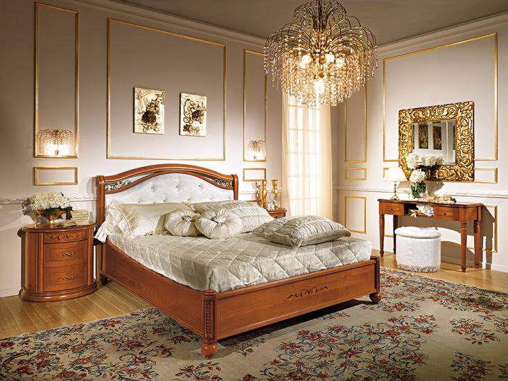 Komplett Schlafzimmer Stilmöbel Qualität Italien Hochglanz Luxus