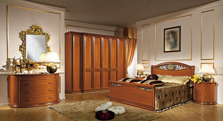 design schlafzimmer stilm bel farbe kirschbaum italien. Black Bedroom Furniture Sets. Home Design Ideas