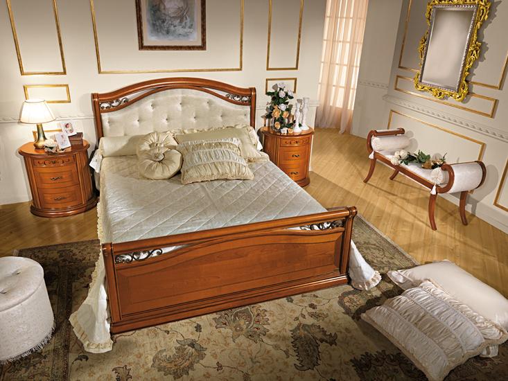 komplett schlafzimmer stilm bel farbe kirschbaum italien luxus hochglanz schick. Black Bedroom Furniture Sets. Home Design Ideas