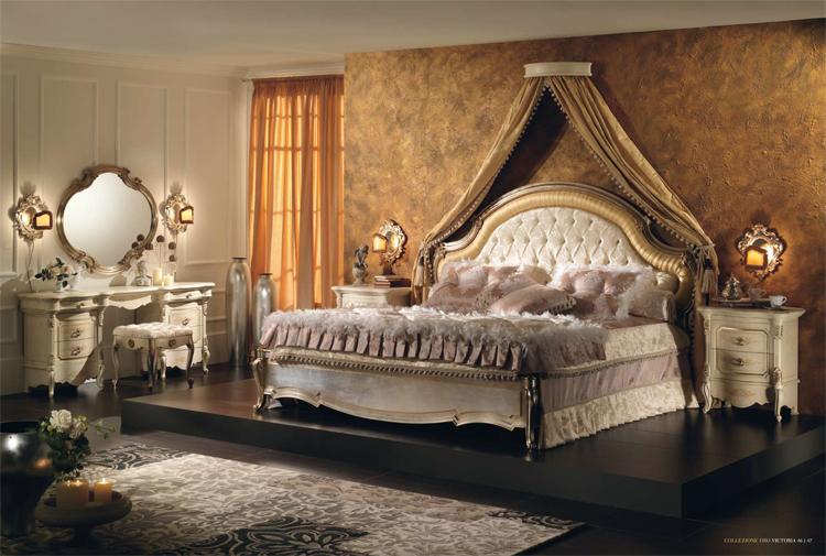 Design luxus schlafzimmer stilm bel aus italien hochglanz - Exklusive schlafzimmer ...