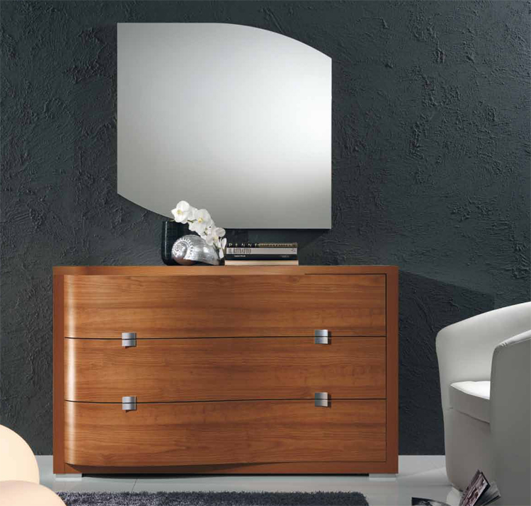 luxus exklusive modern kommode m bel italien design kirsche kirschbaum qualit t ebay. Black Bedroom Furniture Sets. Home Design Ideas
