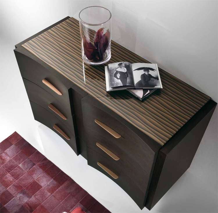 luxus exklusive moderne kommode m bel italien qualit t design wenge fichte ebay. Black Bedroom Furniture Sets. Home Design Ideas