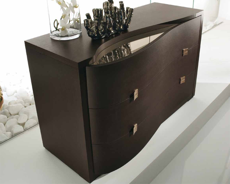 luxus exklusive moderne kommode m bel italien design wenge braun hochwertig ebay. Black Bedroom Furniture Sets. Home Design Ideas