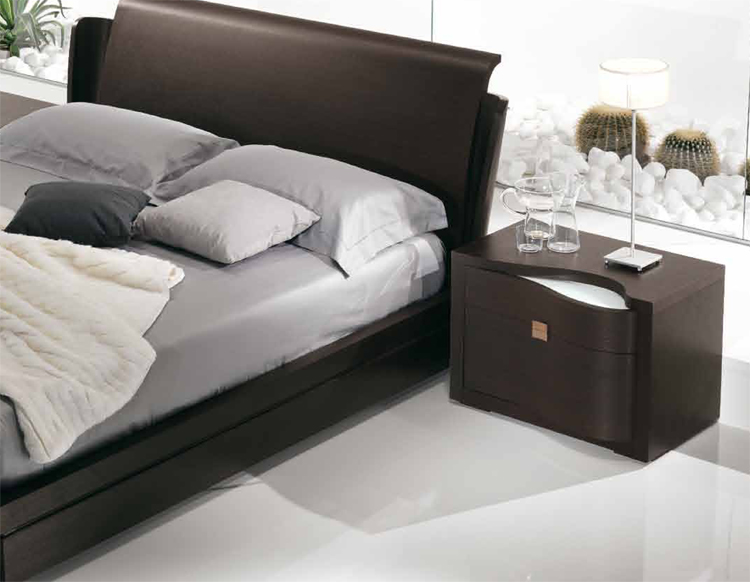 moderne exklusive luxus nachtkonsole m bel italien wenge. Black Bedroom Furniture Sets. Home Design Ideas