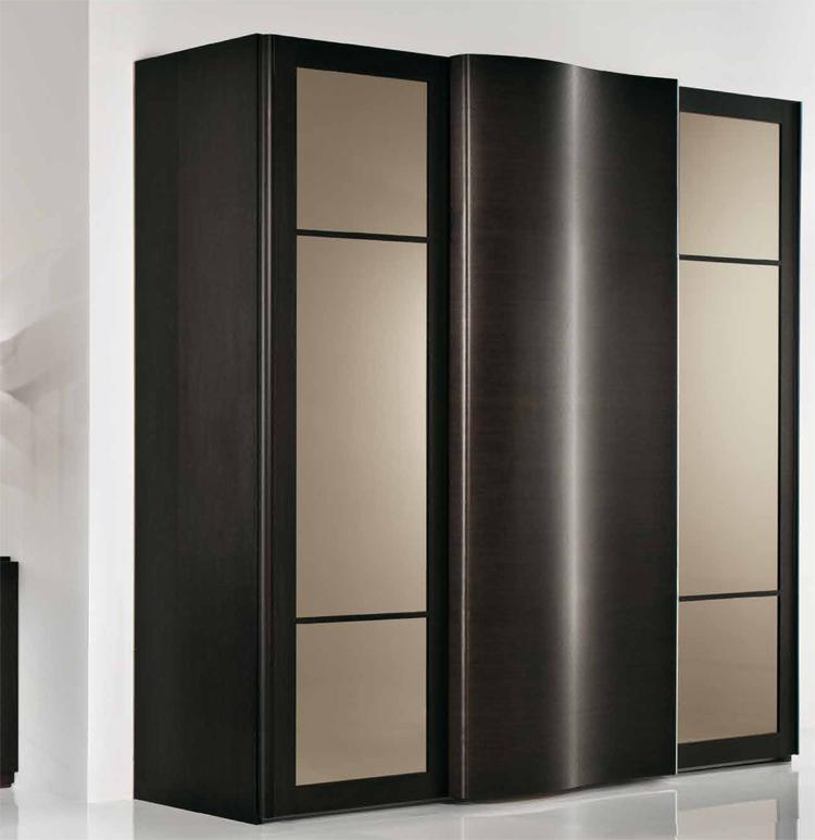 exklusive modern kleiderschrank italien design braun wenge. Black Bedroom Furniture Sets. Home Design Ideas