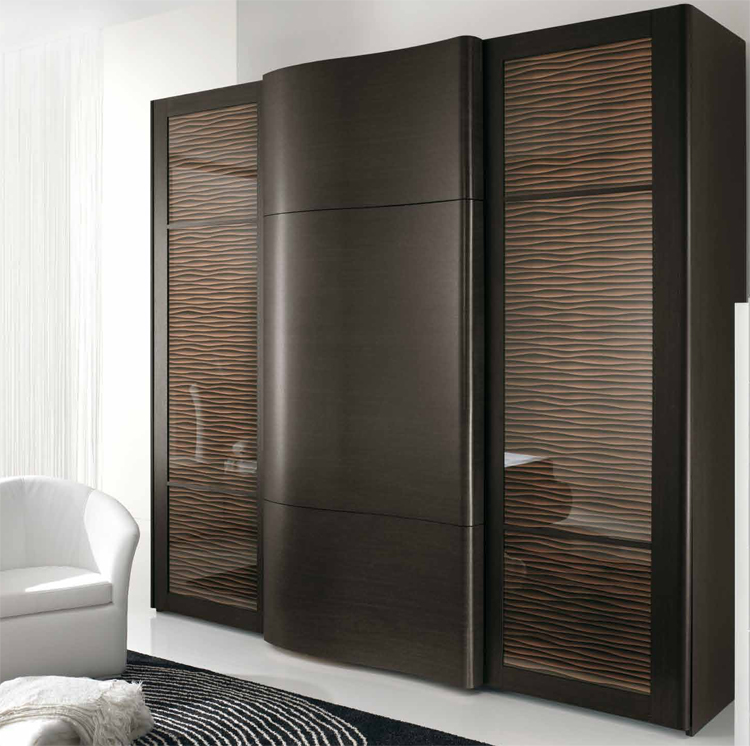 levivo transportabler kleiderschrank mit vielen f chern und 3 rollt ren ca 174 x 147 x 44 cm. Black Bedroom Furniture Sets. Home Design Ideas