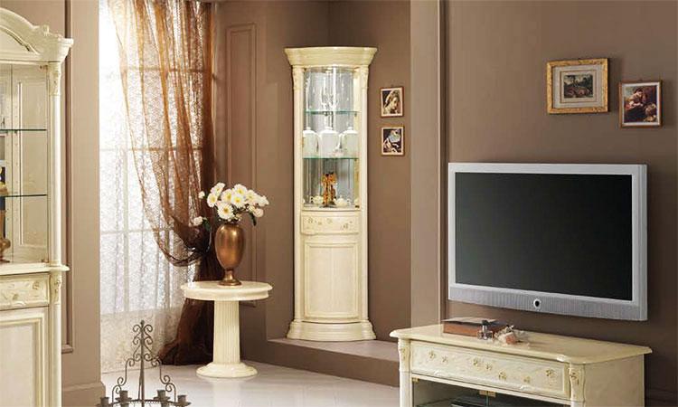 luxus eckvitrine aphrodite stilm bel aus italien