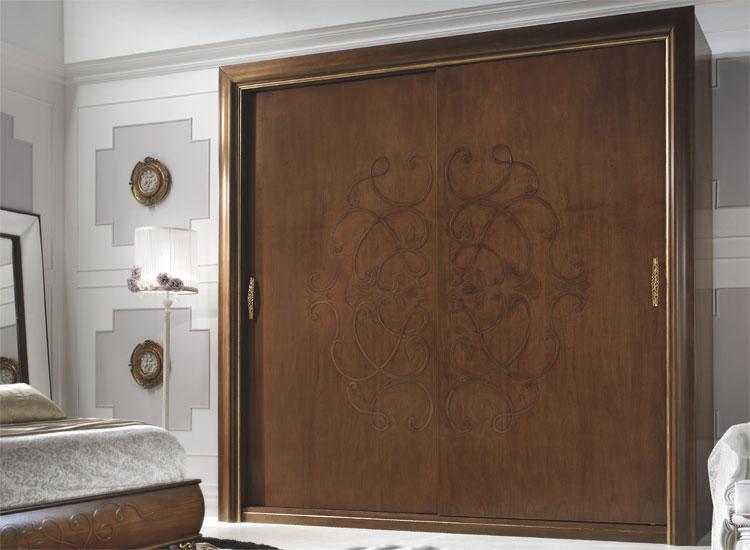 luxus kommode 4 schubladen mit spiegel diva nussbaum stilm bel aus italien ebay. Black Bedroom Furniture Sets. Home Design Ideas