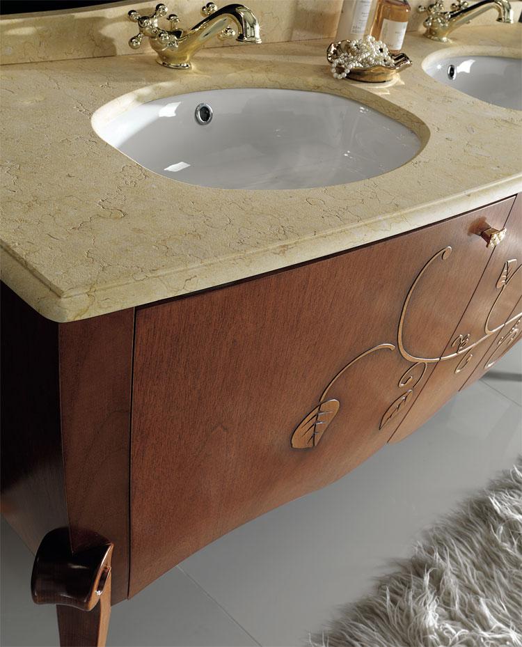 Luxus badm bel set margot mahagoni furnier klassische italienische stilm bel ebay - Italienische designer wandspiegel ...